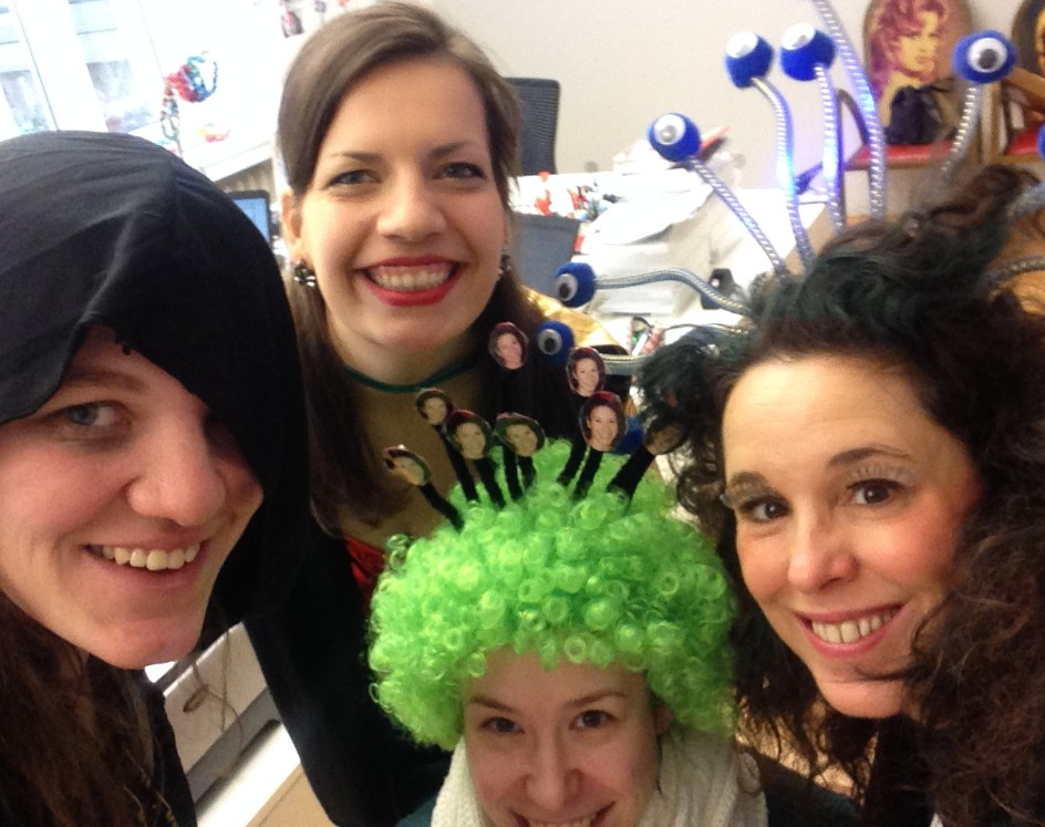 Karneval im blc-Büro