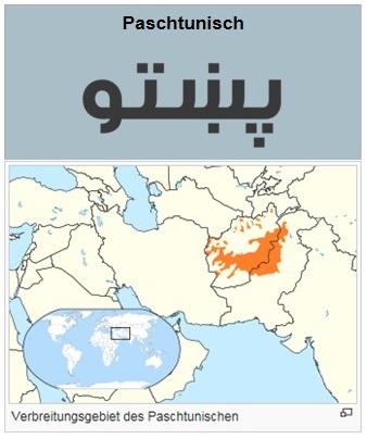 SP9: Verbreitungsgebiet des Paschtunischen