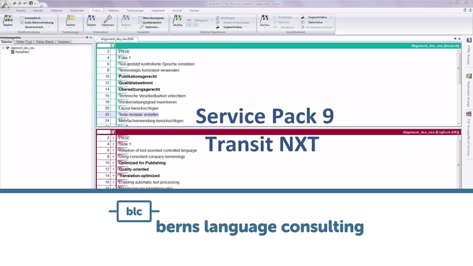 Transit NXT Service Pack SP 9