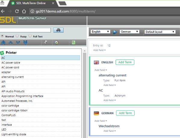 MultiTerm Server & GroupShare (Bild: SDL)