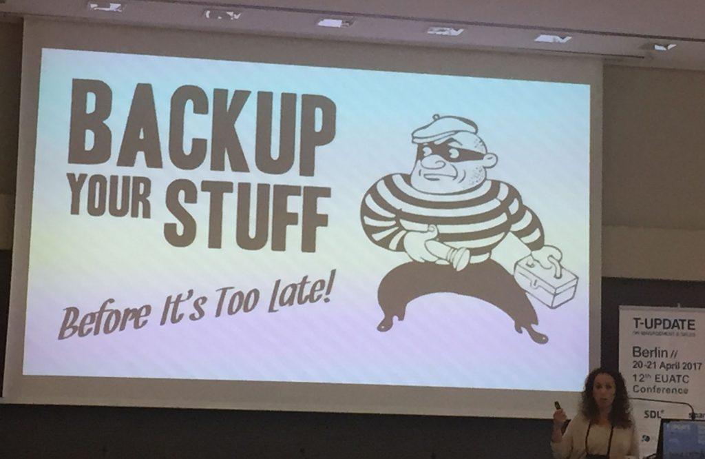 EUATC: Backup Your Stuff!