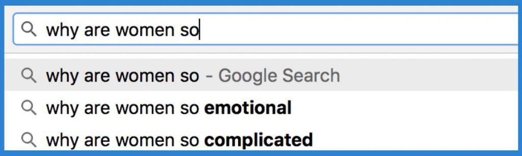 Künstliche Intelligenz im Alltag (Screenshot von Google)