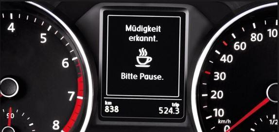 VW Polo - Müdigkeitserkennung