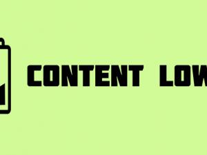Bild: Content Low (Quelle: https://www.flickr.com/photos/smemon/4855136300/)