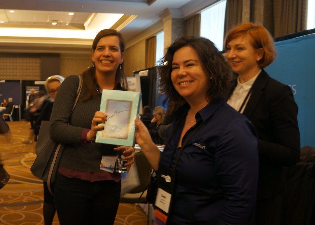 Christiane Mieth gewinnt bei der GALA Conference 2018 - Quelle: blc