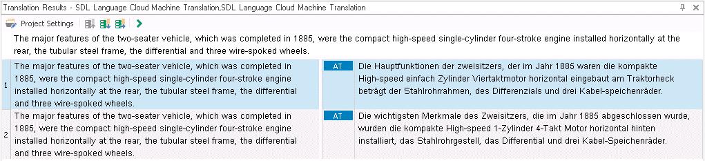 Adaptive MÜ in der SDL Language Cloud