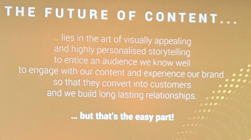 So sieht die Zukunft des Contents aus (Bild: Robert Weller)