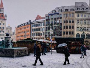 Unsplash / Marienplatz München