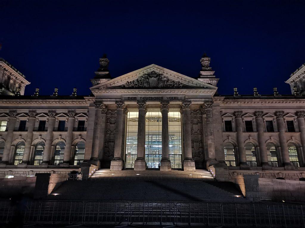 Das Reichstagsgebäude in Berlin. Foto: Christian Eisold